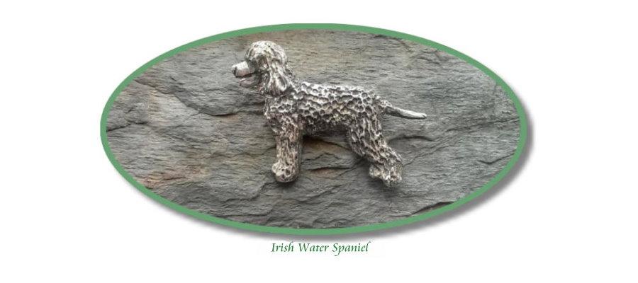Irish Water Spaniel Jewelry by Elizabeth Trail Design